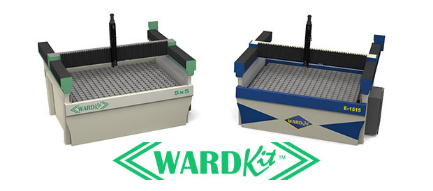 WARDKit water jet building kits.