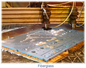 cutting fiberglass