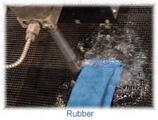 cutting rubber