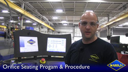 Learn how to seat your new orifice correctly or use the automated program on Ikuhlu