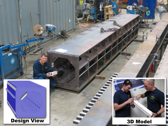 GCM Crossbeam Fabrication