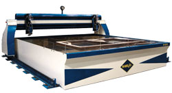 R-1214 waterjet cutting system