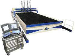 R-3014 waterjet cutting system