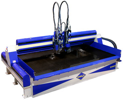 Z-2543 waterjet cutting system
