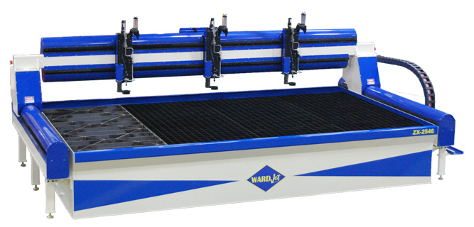 ZX-2546 waterjet cutting system