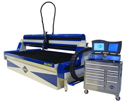 Z-2043 waterjet cutting system
