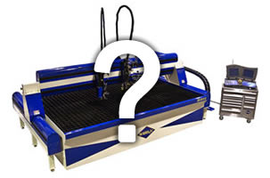 Custom waterjet cutting system