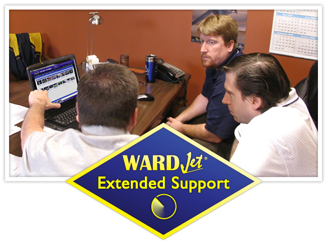 WARDJet Extended Support Hours