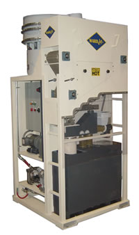 WARD abrasive recycling unit