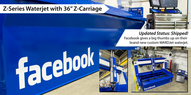 Facebook ZX-1530-5 with 36 inch Z-Carriage