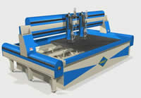 360° Model of a WARDJet Waterjet