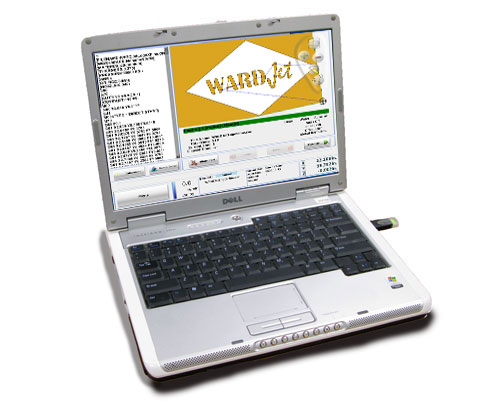 Laptop with Ikuhlu Controller Software