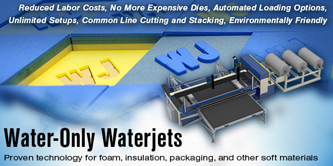 Water-Only Waterjet Cutting Machines